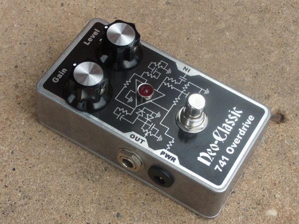 how to finish off a guitar pedal
